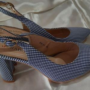 Brand new Jurado heels
